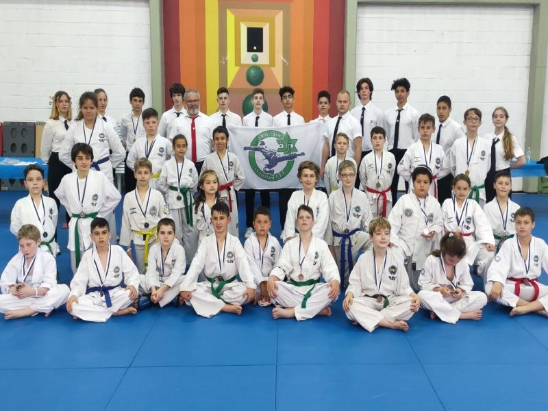 8 מדליות זהב לספורטאי מכבי חיפה טאקוונדו באולימפיאדת הילדים