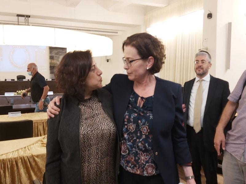 היסטוריה בחיפה: בפעם הראשונה התולדות העיר חיפה נבחרה אישה ערביה לתפקיד סגן ראש העיר