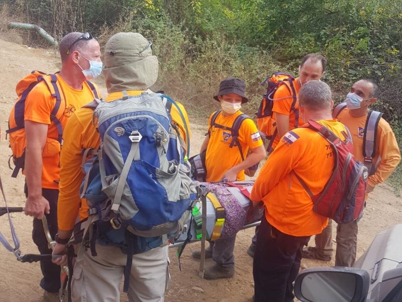 יחידת החילוץ גליל-כרמל סיימה לפני זמן קצר חילוץ בנחל עמוד