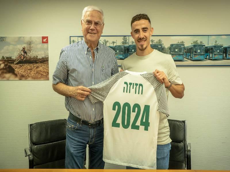 דולב חזיזה האריך את החוזה במכבי חיפה עד 2024