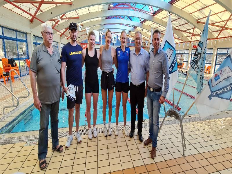 מפגש פסגה באגודת מכבי קרית ביאליק בשחיה