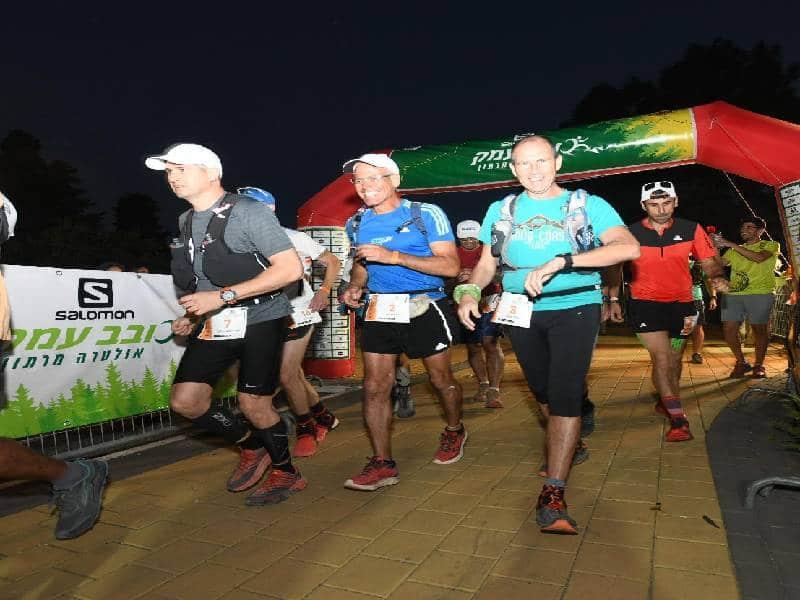 """בסופ""""ש נערך האולטרה מרתון הגדול בישראל במועצה האזורית מגידו"""