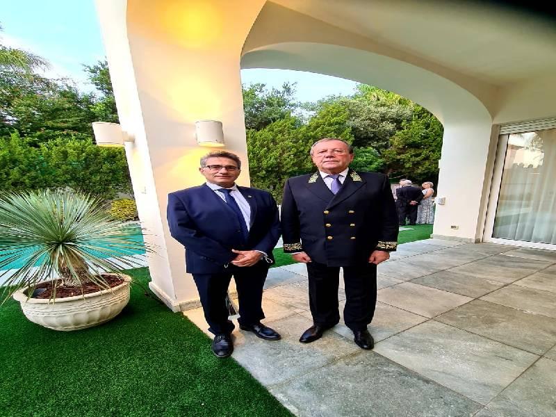 ראש העיר כרמיאל משה קונינסקי, השתתף כאורחו של שגריר רוסיה בישראל באירוע חגיגי לציון 30 שנה לכינון היחסים הדיפלומטיים בין ישראל לרוסיה