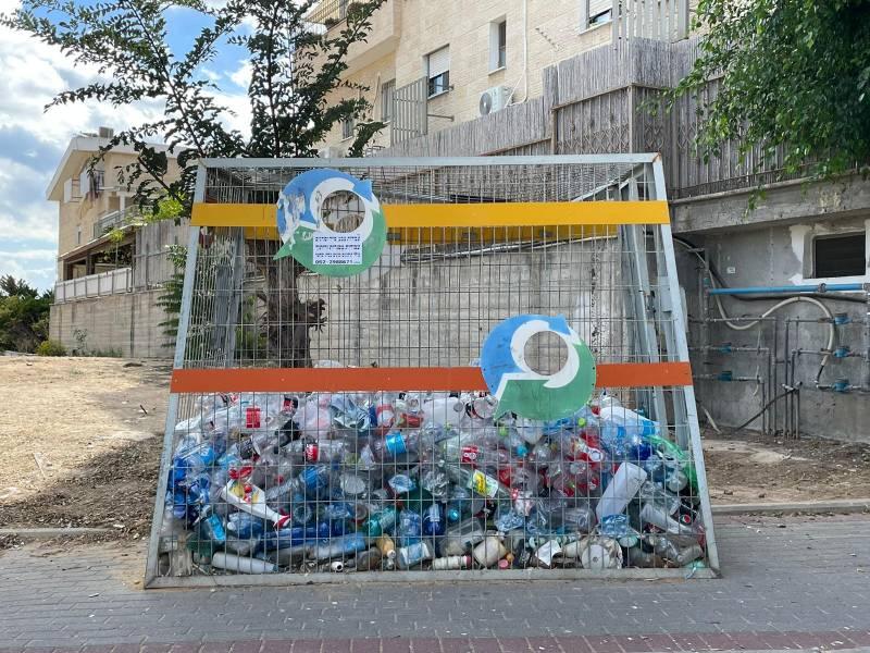 """בהתאם להרחבת """"חוק הפיקדון"""" – חיפה תיפרד מכלובי הבקבוקים"""